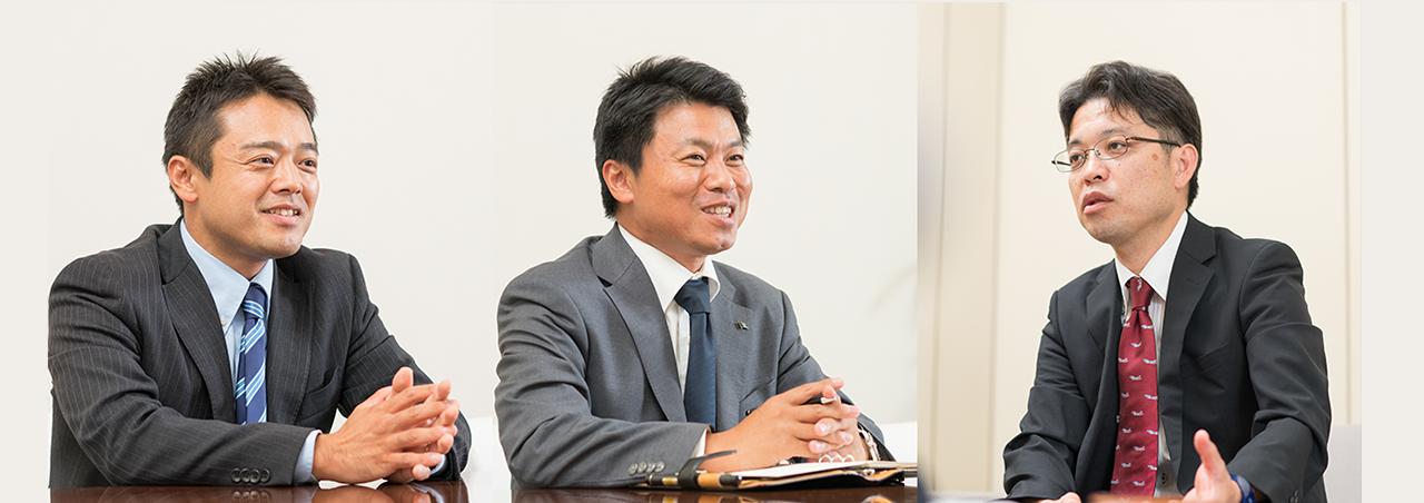 人事インタビュー INTERVIEW OF HUMAN OF RESOURCES